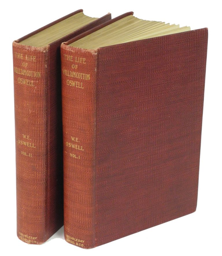 WILLIAM COTTON OSWELL, HUNTER AND EXPLORER; The Story of His Life with Certain Correspondence and Extracts from the Private Journal of David Livingstone, hitherto unpublished. Oswell W. E.