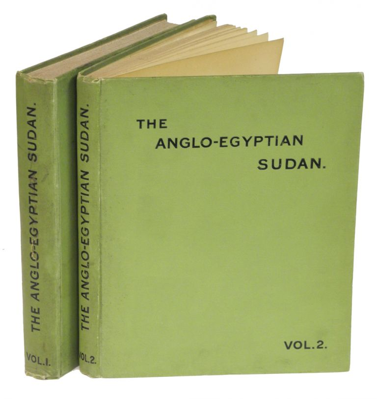THE ANGLO-EGYPTIAN SUDAN; A COMPENDIUM PREPARED BY THE OFFICERS OF THE SUDAN GOVERNMENT. Gleichen Lieut.-Colonel Count.