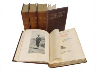 GUN AT HOME AND ABROAD (I-IV) BRITISH GAME BIRDS AND WILDFOWL, BRITISH DEER AND GROUND GAME,; THE...