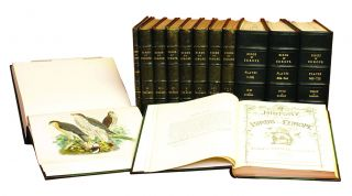 A HISTORY OF THE BIRDS OF EUROPE; Including All The Species Inhabiting The Western Palaearctic...
