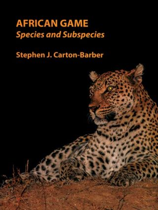 AFRICAN GAME; Species and Subspecies. Carton-Barber S. J